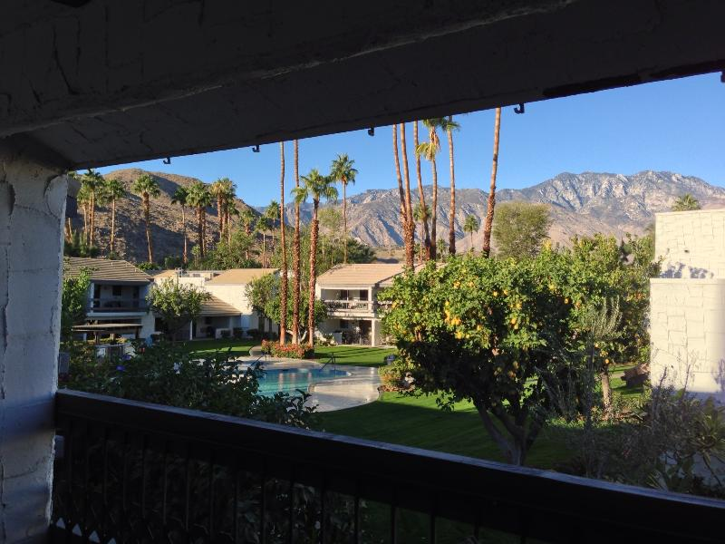 View from Balcony - Ultra Modern Palm Springs Condo - Palm Springs - rentals