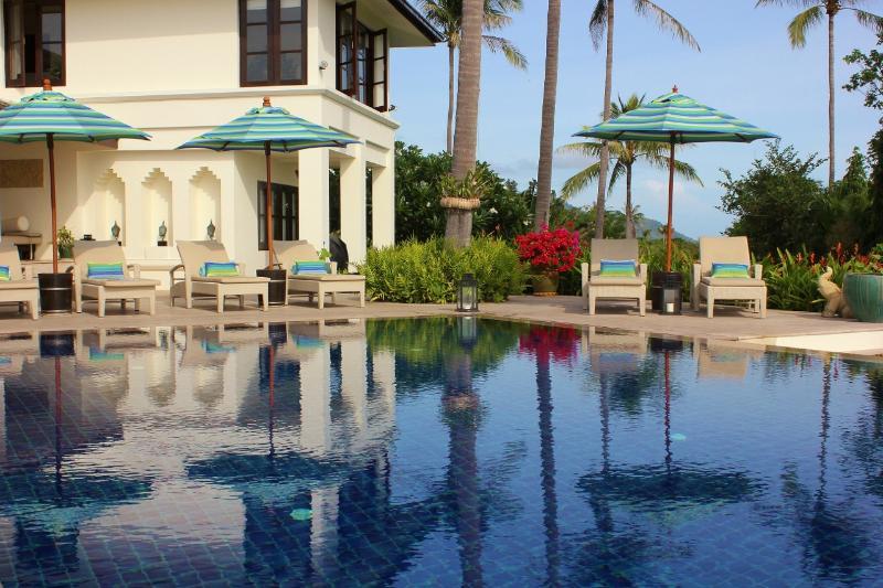 Pool Terrace - Baan Sawan Villa | Luxury Family Friendly Villa - Bophut - rentals