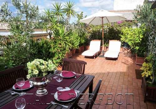 Perfect Luxury Penthouse-Huge Terrace-Bright Freso - Image 1 - Rome - rentals