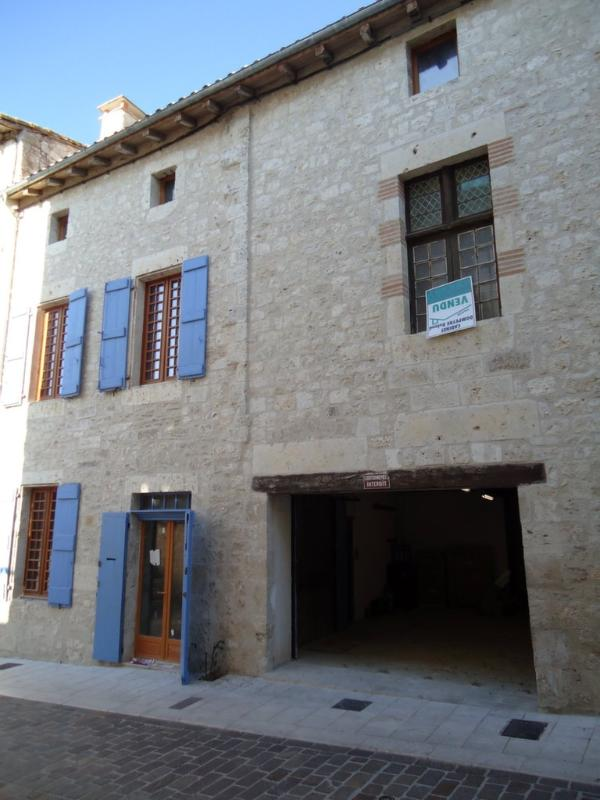 Ground Floor: Pedestrian and Car entrance - Superb Medieval House South of France - Lauzerte - rentals