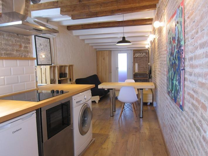 DESIGN BRAND NEW LOFT CLOSE TO PLAZA CATALUNYA - Image 1 - Barcelona - rentals