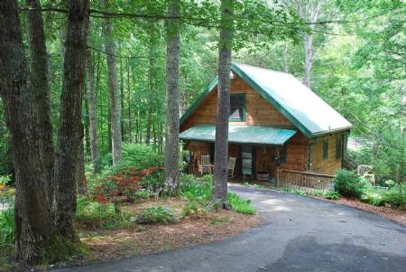 Peak Creek Cozy Cabin - Peak Creek Cozy Cabin_Creek_Pet Friendly_Hot Tub_WiFI_Family Friendly_Private_Wooded Setting - Jefferson - rentals