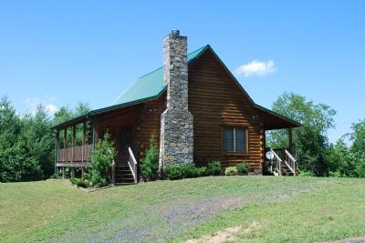Rivermont - Rivermont-Cabin w/ Wood burning fireplace - West Jefferson - rentals
