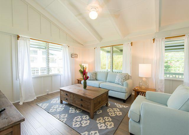 Remodeled Hanalei Home,Walk to the Beach/Hanalei Town! - Image 1 - Hanalei - rentals
