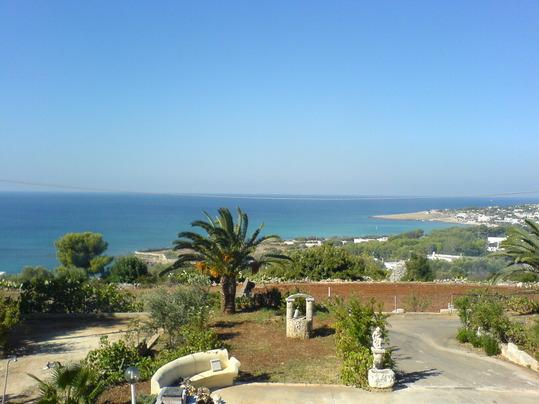 Studio in Villa sea view at 250 m. from sea - Image 1 - Santa Maria di Leuca - rentals