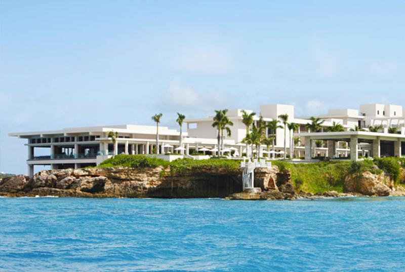 SPECIAL OFFER: Anguilla Villa 41 Enjoy The Outdoor Balcony's Ocean View And Private Plunge Pool From The Chaise Lounges For Two. - Image 1 - Barnes Bay - rentals