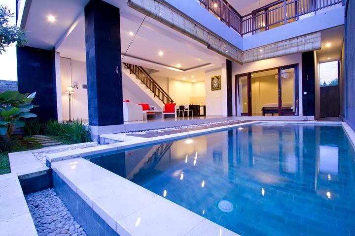 3 BR villa 500m from Echo Beach Canggu - Image 1 - Canggu - rentals