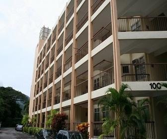 Exterior of Apartment Block C - 10 C Bayu Emas Apartment - Penang - rentals