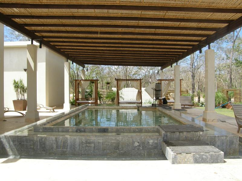Hot and Cold Plunge Pools at the Spa - Luxury 3 Bed Condo at 5 star resort, Costa Rica - Santa Ana - rentals