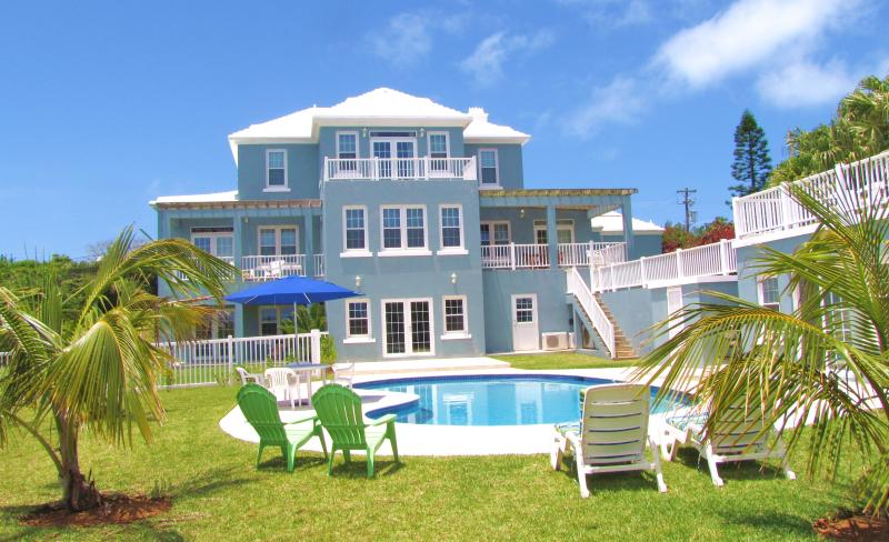 Main House - Great Vacation Unit, Ocean View and Pool - Hamilton Parish - rentals
