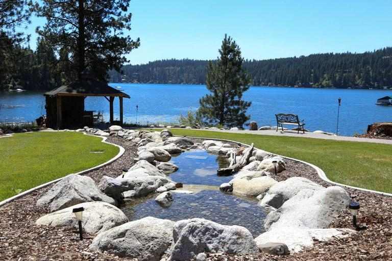 Your Private Peninsula Vacation - Hayden Lake Lodge A Waterfront Vacation Home - Hayden - rentals