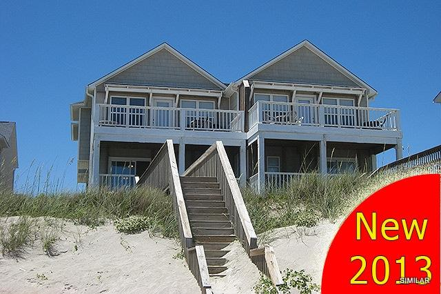 This unit is on the left - N. Topsail Dr. 826-B -4BR__OF_18 - Sneads Ferry - rentals