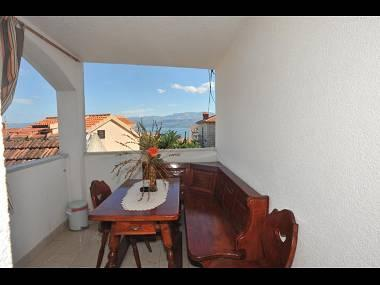 A1(4+1): covered terrace - 8192  A1(4+1) - Supetar - Supetar - rentals