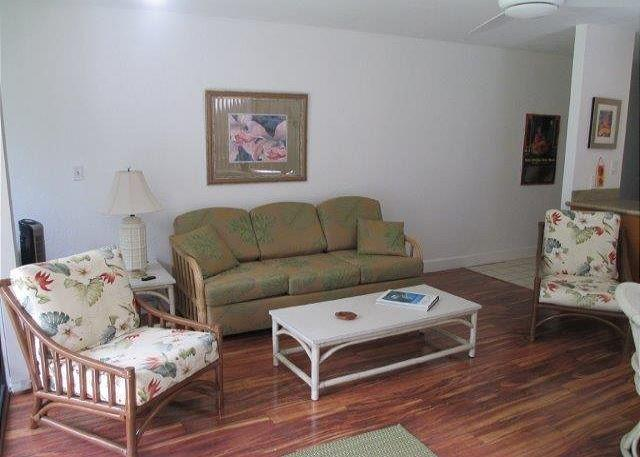 Living Room - Turtle Bay 156 West **Available for 30 day rentals, please call. - Kahuku - rentals
