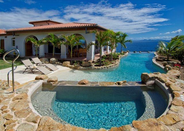 VillaRosa: Beautiful 4 Bedroom Villa with amazing views | Island Properties - Image 1 - Saint Martin-Sint Maarten - rentals