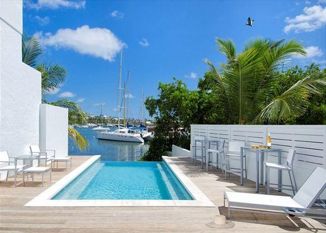Common pool - 1 bedr Condo within a few steps to beach and marina | Island Properties - Saint Martin-Sint Maarten - rentals