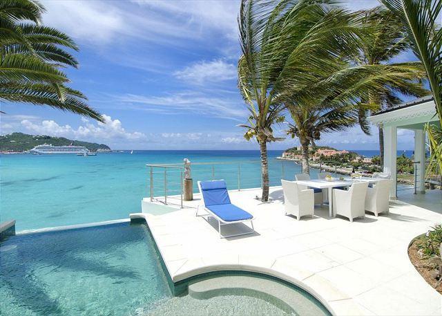 Pool with amazing views - Sueño: 3 bedroom villa overlooking Great Bay| Island Properties - Saint Martin-Sint Maarten - rentals