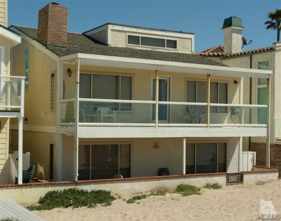 Gorgeous House on the Sand - Gorgeous Beachfront Home on Silverstrand - Oxnard - rentals