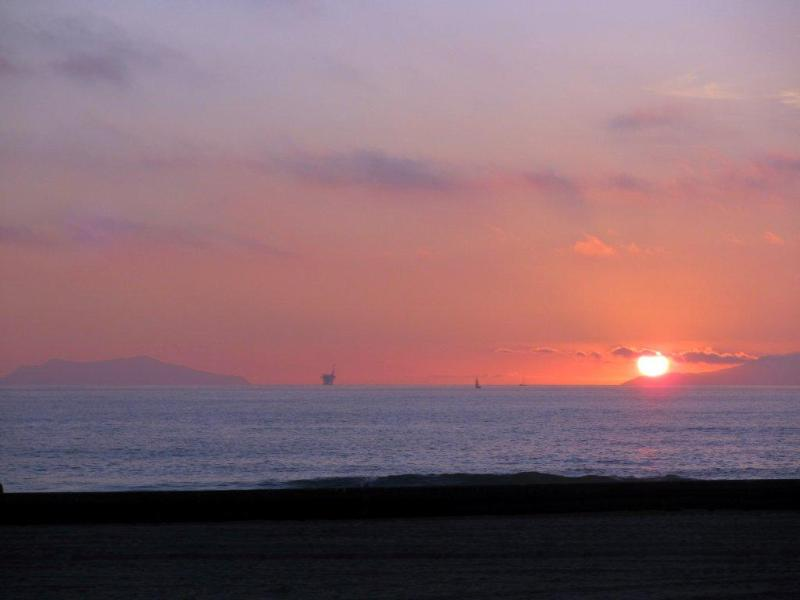 Beautiful Sunset Taken from the Deck - Gorgeous Beachfront Home on Silverstrand - Oxnard - rentals