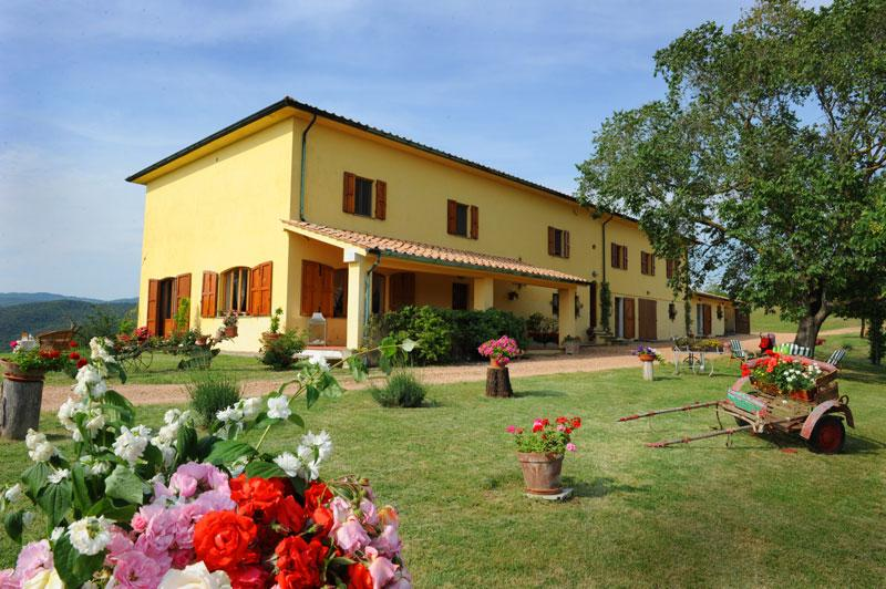 Tre Sorelle - Wonderful villa with 16 sleeps - Image 1 - Ponteginori - rentals