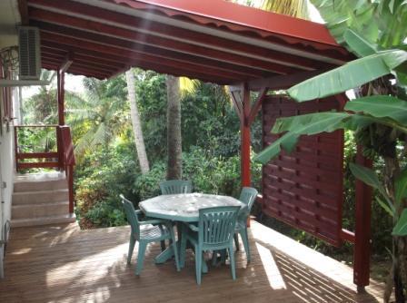 Terrasse T1 - Gîte confortable sur Le Gosier Wi-Fi - Le Gosier - rentals