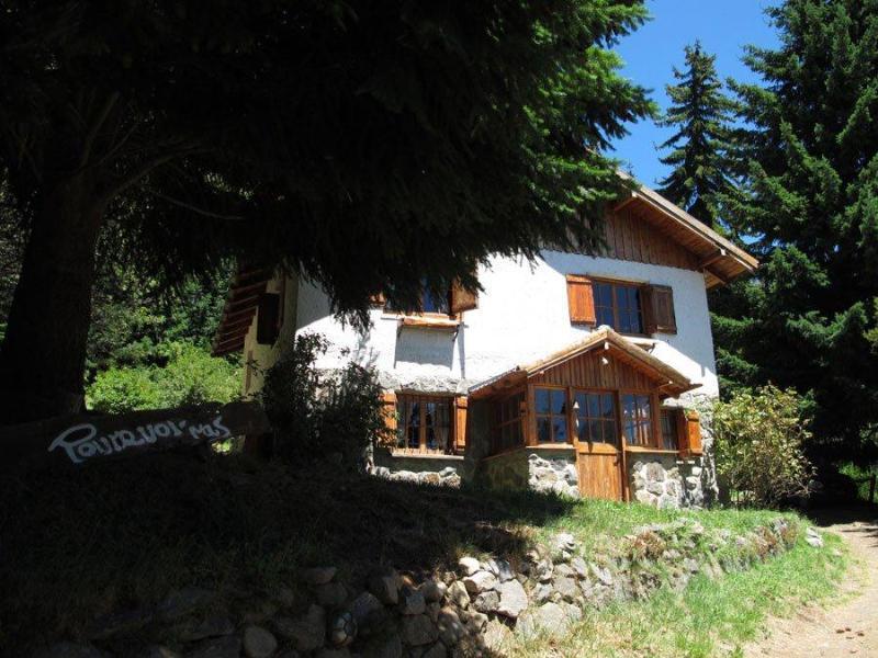 """""""Pourquoi-pas"""" Front - Charming mountain chalet: - San Carlos de Bariloche - rentals"""