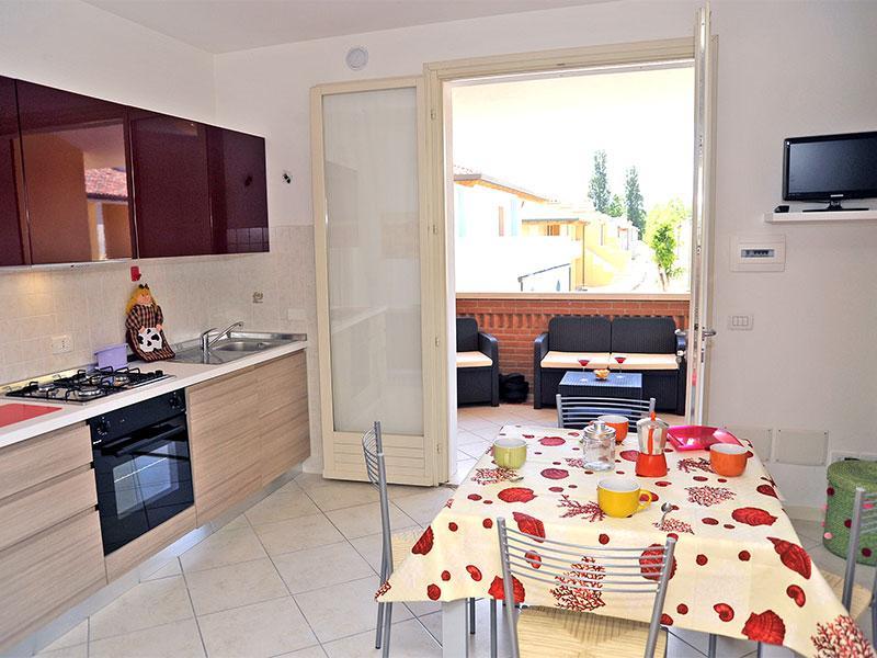 Soggiorno con terrazza angolare - Villetta Best primo piano Lido Nazioni - Lido delle Nazioni - rentals