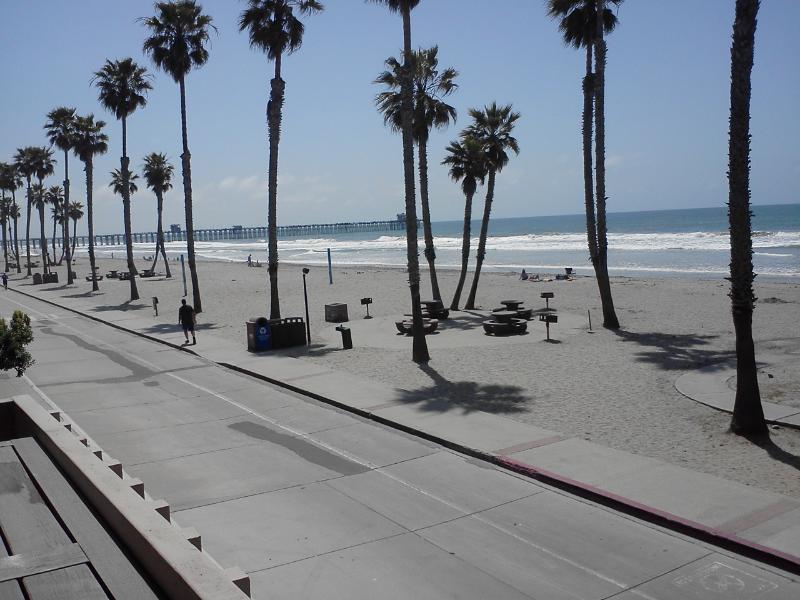 This is the ACTUAL VIEW-not a zoomed in shot! - Front row, directly in front of the beach-AMAZING - Oceanside - rentals