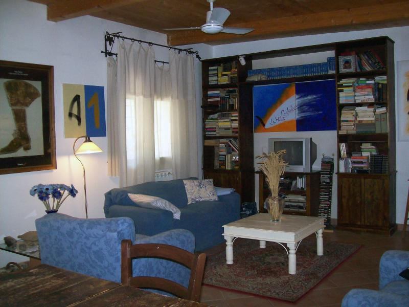 Living Room - Rome Cottage in Ostia Antica - Bagnara di Romagna - rentals