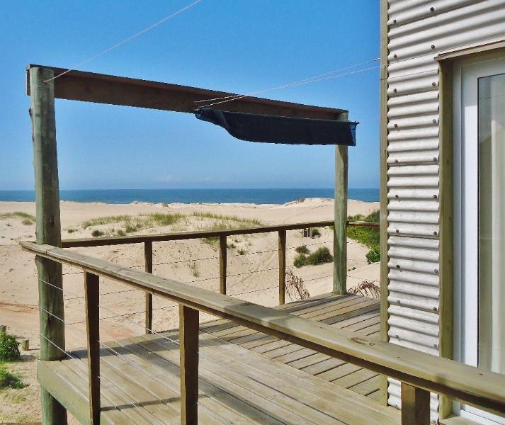 A view to the sea - from the terraza - La Amistad Cottages Uruguay #2 - Punta del Diablo - rentals