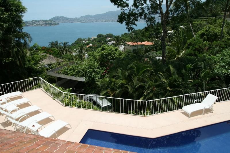 ACA - MDC105 Mexican design elements with nice sea view - Image 1 - Acapulco - rentals