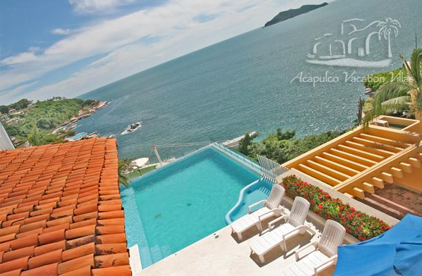 ACA - MDR05 - Charming villa with sunny pool and fabulous sea views - Image 1 - Acapulco - rentals