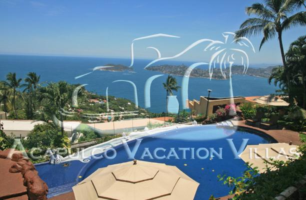 ACA - MIO8   A luxury Mediterrean style villa with priviliaged view of the bay and ocean - Image 1 - Acapulco - rentals
