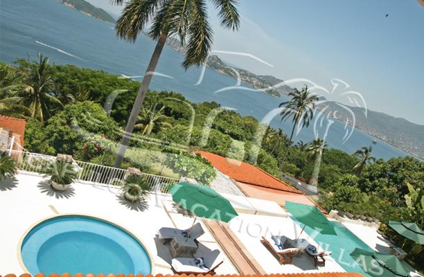ACA - PDRA05 Charming and peaceful French Mediterranean Villa with full ocean views, hammocks and lounge areas - Image 1 - Acapulco - rentals