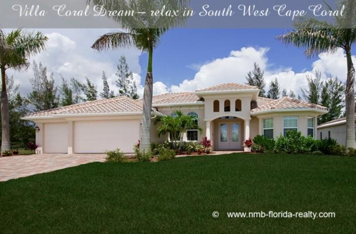 Villa Coral Dream-brandnew in great location! - Image 1 - Cape Coral - rentals