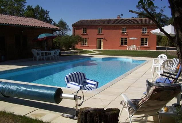 Front of the House - Renovated Farmhouse With Private Pool - Saint-Nazaire-d'Aude - rentals