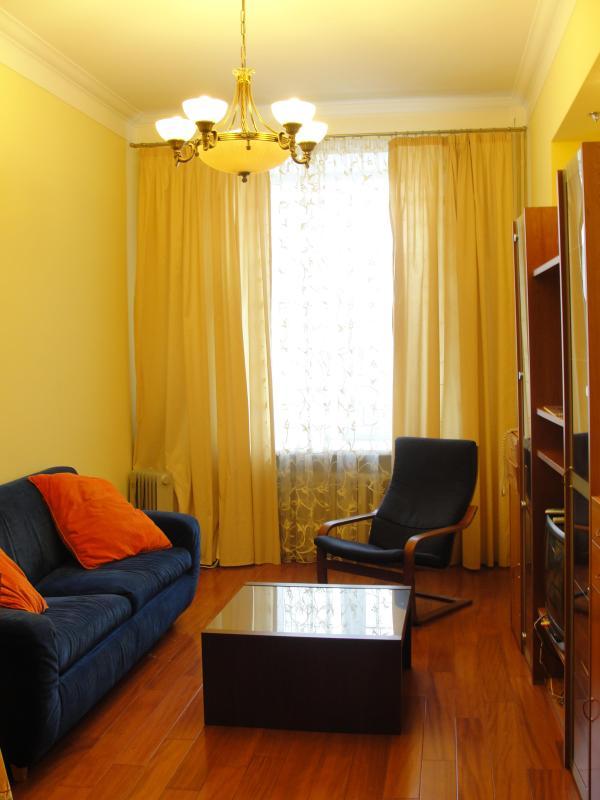 Living room - TVERSKAYA KREMLIN Suite, 2 rooms apartment - Moscow - rentals