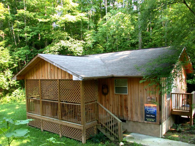 1BR, 1Ba Private Cabin near Pigeon Forge Pkway - 588bf4a8-e4f1-11e2-a287-90b11c1afca2 - Pigeon Forge - rentals