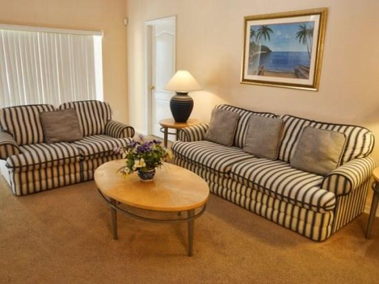 Living Area - SC5P17700WW Disney Close Vacation Home with Pool and Jacuzzi - Orlando - rentals
