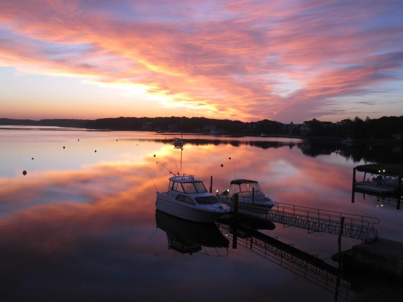 Sunrise From The Lawn - Quaint Island Setting,Personal Beach and Dock - Mashpee - rentals