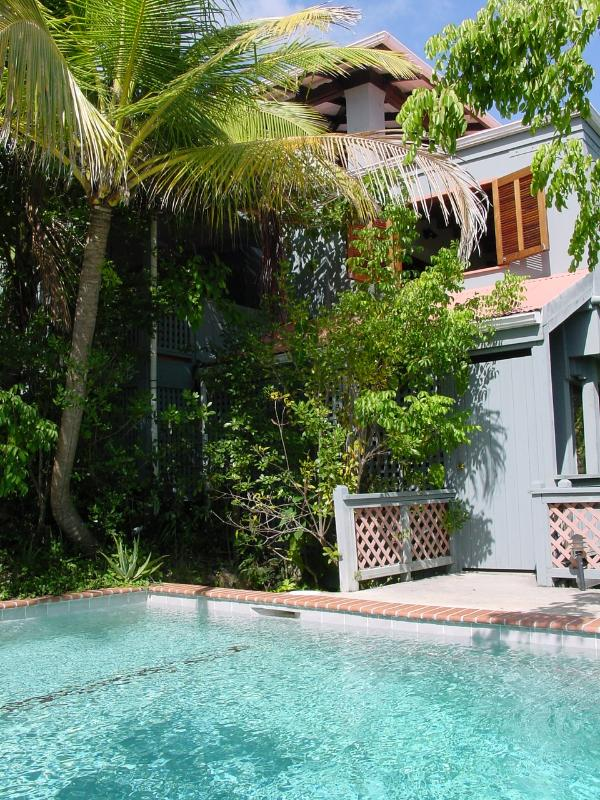 condo w porch adjacent pool - Petit Tre'sor: Best Value in Caribbean - Cruz Bay - rentals