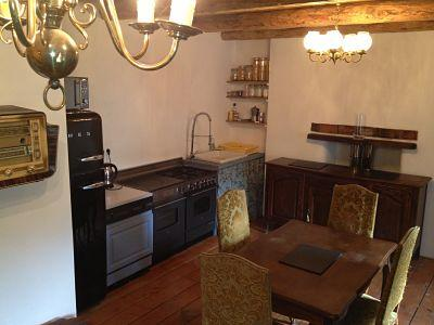 smeg fridge, range cooker, antique furniture - Relaxing summer chalet, ski Courchevel in winter - Montagny - rentals