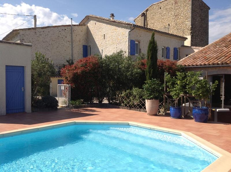 la piscine (11 x 5) - Charming Cottage In The Heart Of Languedoc, And Between Camargue Cevennes - Saint-Hippolyte-du-Fort - rentals