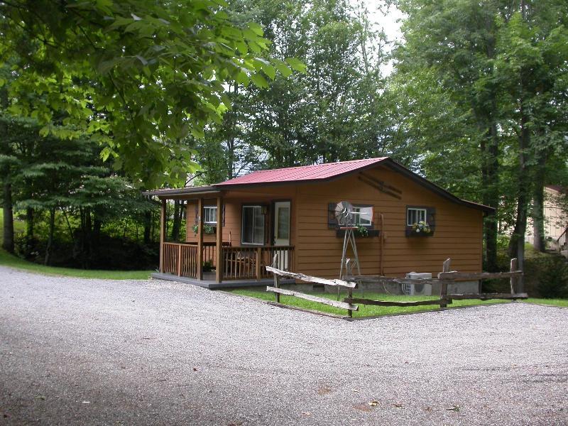 ALPINE CABIN - Alpine Cabin, MOTORCYCLE YES, Hot Tub, Wifi, 755WK - Maggie Valley - rentals