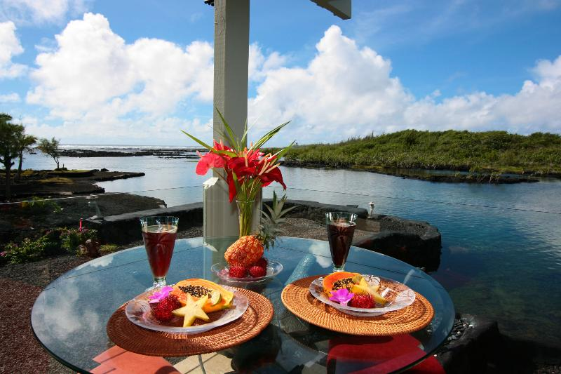 Ocean Front Living at its Finest - Oceanfront Jewel by the Sea - Mika Lani - Snorkel - Pahoa - rentals