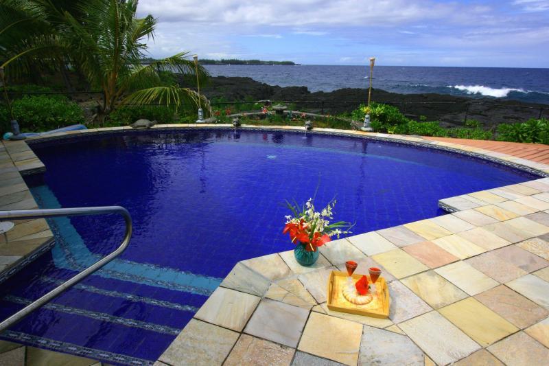 The Perfect Hawaiian Vacation - Blue Hawaii Oceanfront – Mika Kai – You'll Never W - Keaau - rentals