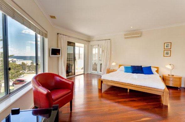 Master Bedroom - Cottesloe Contemporary Villa - Perth - rentals