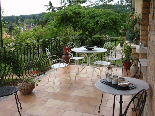 Dinning Terrace - Apartment MONET , Maison Pierre Dor - Sarlat-la-Canéda - rentals