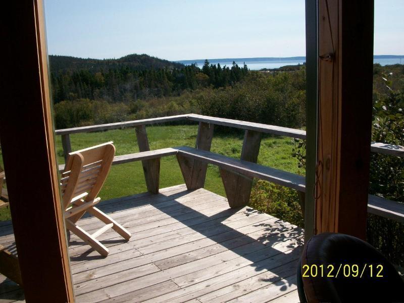 view from deck - Rumphius Cottage Lubec Maine - Lubec - rentals