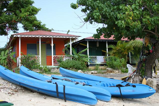 Kayaks on the Beach - Seaside and Garden Cabins (One Bed) - Negril - rentals